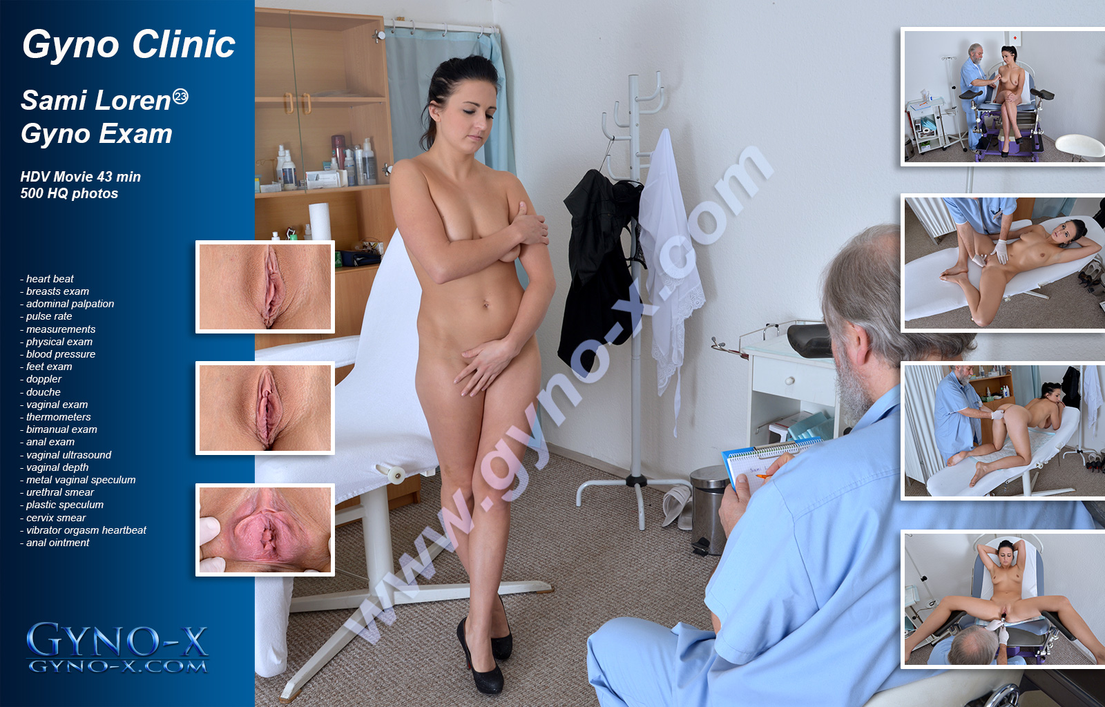 gyno-x preview - adult site related to gyno and medical fetish